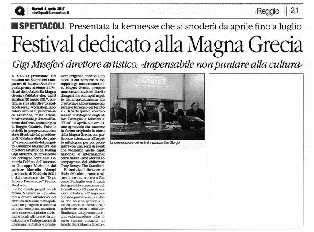 Presentazione FaMaG - Il Quotidiano